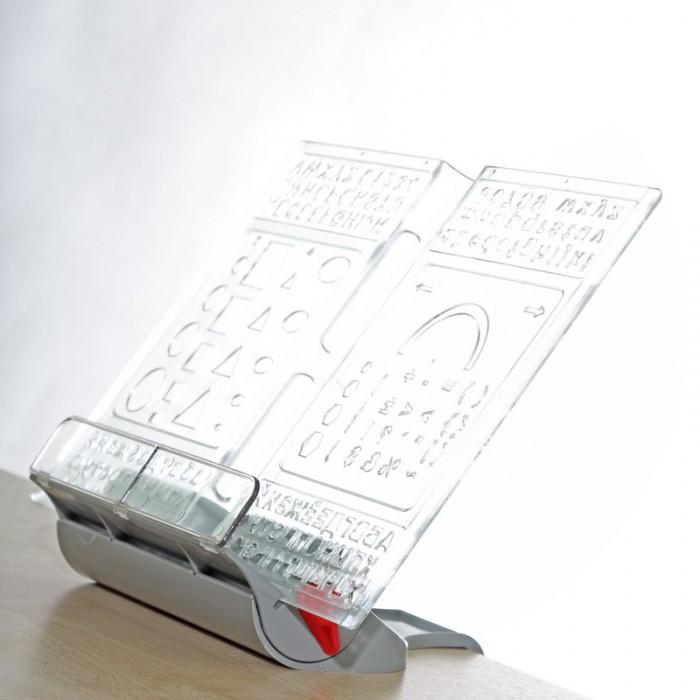 Канцелярия Дэми Трех-уровневая подставка-трафарет под книгу ПК-03 блюда этажерки ambition трёх уровневая подставка для торта