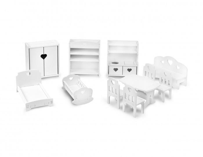 Кукольные домики и мебель Детская 1 Комплект мебели для кукол 15-20 см