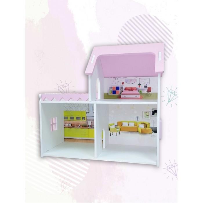 Кукольные домики и мебель PeMa Kids Кукольный домик Мини с балконом