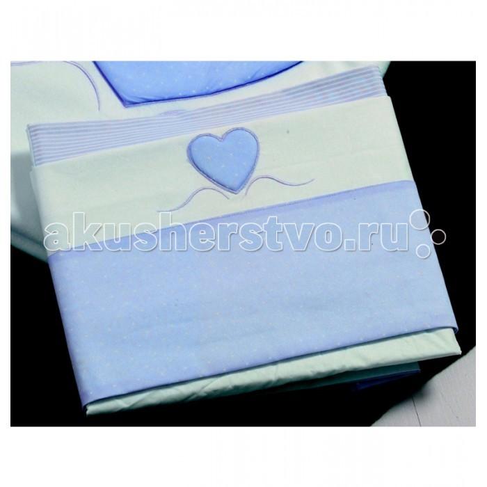 Постельное белье Roman Baby Cuore di Mamma (3 предмета) roman baby панно на стену roman baby cuore di mamma арт 6008