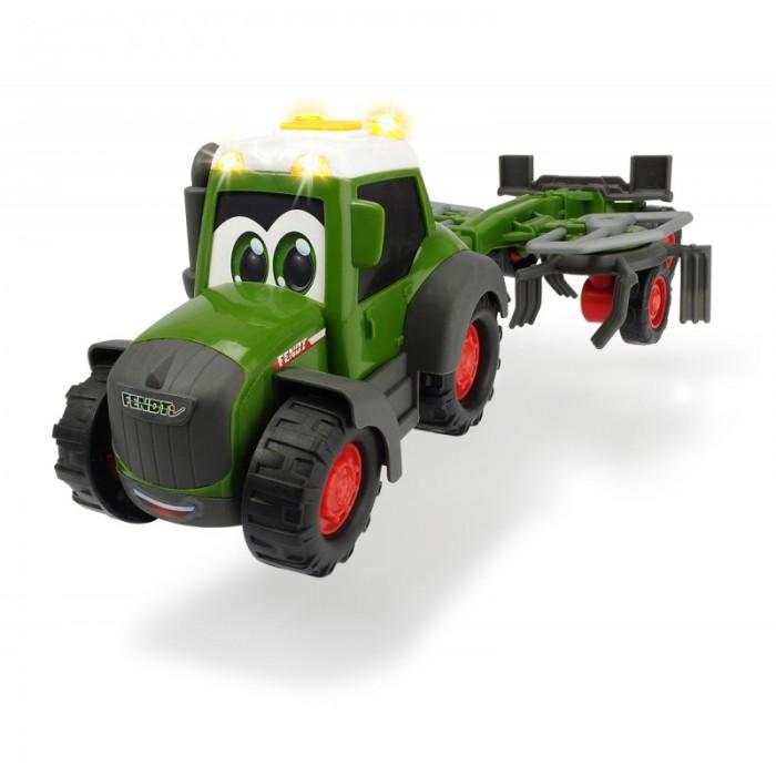 Машины Dickie Трактор Happy Fendt с ворошилкой для сена 30 см