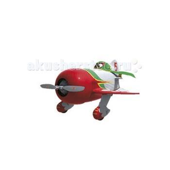 Вертолеты и самолеты Dickie Самолет с пусковым механизмом вертолеты и самолеты green toys самолет