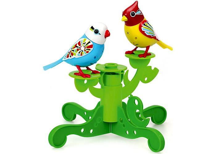 Интерактивные игрушки Digibirds Две птички с деревом silverlit digibirds пингвин фигурист с кольцом серый