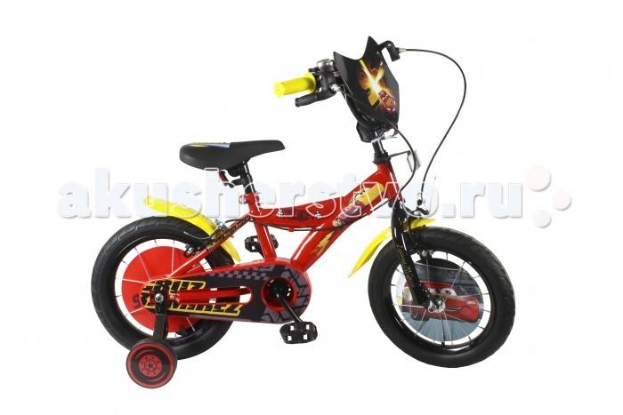 Двухколесные велосипеды Disney Тачки ВН14166 велосипед двухколесный disney тачки 14 красно черный