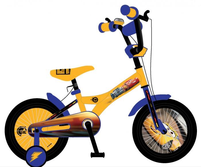 Детский транспорт , Двухколесные велосипеды Disney Тачки ВН20177 арт: 529381 -  Двухколесные велосипеды