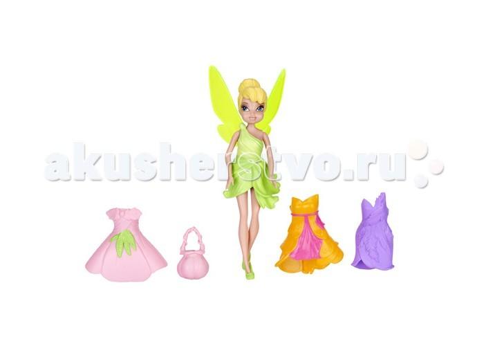Игровые фигурки Disney Фея с 3 платьями кукла disney фея 3 платья 11 см 74734 в ассортименте