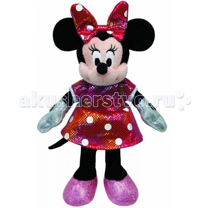 Мягкие игрушки Disney Minnie Sparkle 20 см (звук) disney minnie ботинки школьные disney minnie dm001700 розовый розовый белый