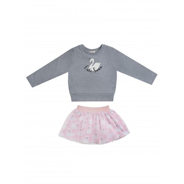 Купить Юбки, Diva Kids Комплект для девочки Лебеди DK-173