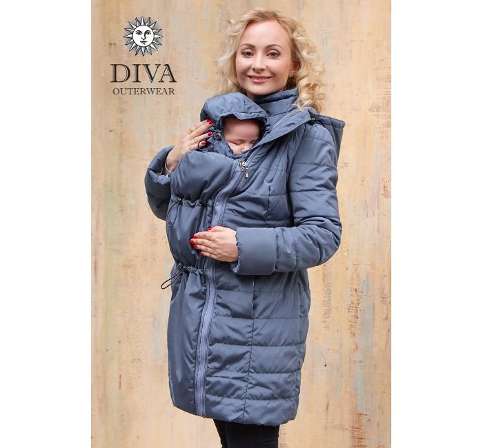 Товары для мамы , Слингокуртки Diva Outerwear Слингокуртка демисезонная 4 в 1 арт: 359699 -  Слингокуртки