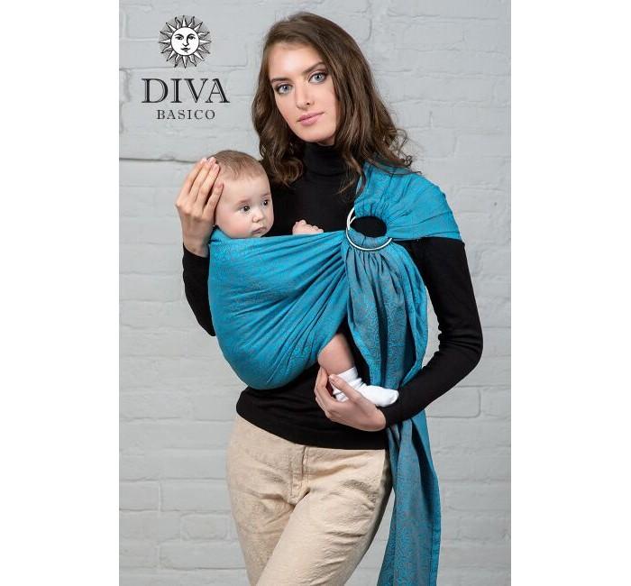 Товары для мамы , Слинги Diva Basico с кольцами, хлопок М арт: 52353 -  Слинги