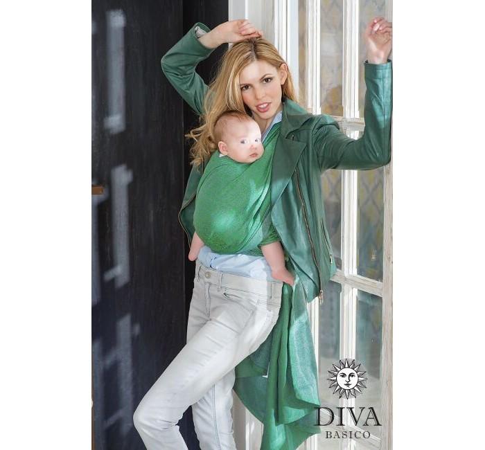 Слинг Diva Milano Basico шарф, хлопок (4.7 м)Basico шарф, хлопок (4.7 м)Слинг-шарф Diva Milano Basico - мягкий, нежный шарф, особенно приятен для новорожденных и деток до года.  Diva Basico - это отдельная линейка итальянского бренда Diva Milano с базовыми характеристиками по доступной цене, произведенная в России по международным стандартам!  Diva Basico - это: прекрасные дизайны от итальянских дизайнеров компании  большой выбор расцветок универсальные характеристики (шарф средней толщины, быстро мягчеет после стирки и непродолжительной носки)  отличное качество (Diva Basico производятся на крупной российской фабрике на прекрасном современном оборудовании) доступная цена  Шарф средней толщины, требует небольшого разнашивания, универсален, подходит для всех возрастов.  Края слинга - подшитые. Состав: 100% хлопок Размер: 4.7 м<br>