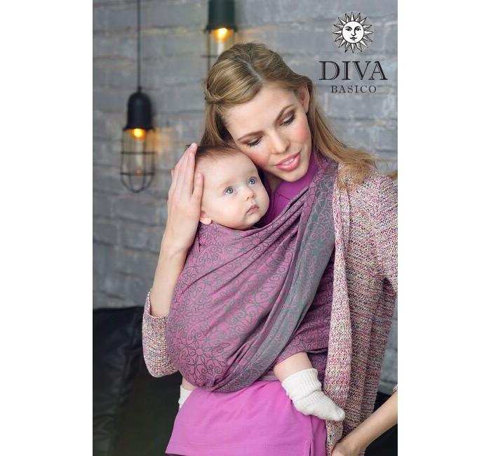 Товары для мамы , Слинги Diva Basico шарф, хлопок (4.7 м) арт: 52351 -  Слинги
