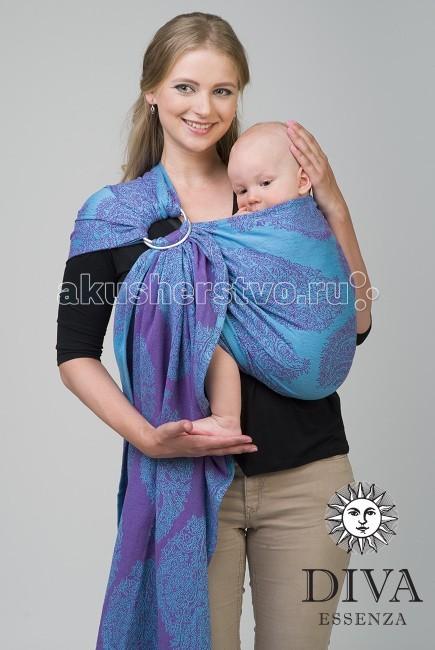 Слинг Diva Milano Essenza с кольцами, хлопок-бамбук MEssenza с кольцами, хлопок-бамбук MСлинг с кольцами Diva Milano Essenza - мягкий, нежный шарф, особенно приятен для новорожденных и деток до года.  Мягчайший шарф с бамбуком - идеален для новорожденного и на лето. Чуть большая толщина бамбука по сравнению с Ellevill делает этот шарф более универсальным - подходит для детей до 10-12кг.  Особенности слинга с кольцами Diva Milano Essenza: прекрасный дизайн от итальянских дизайнеров компании большой выбор расцветок универсальные характеристики (шарф мягкий новым благодаря специальной механической обработке, но средней толщины, так что его можно использовать и с новорожденным, и с подросшим ребенком) отличное качество (Diva Essenza производятся из высококачественного индийского хлопка, на крупной фабрике, сертифицированной по стандартам ISO, только с использованием безопасных красителей без AZO-химикатов)  Края слинга - подшитые. Состав: 50% хлопок, 50% бамбук Размер: M (44-46)<br>