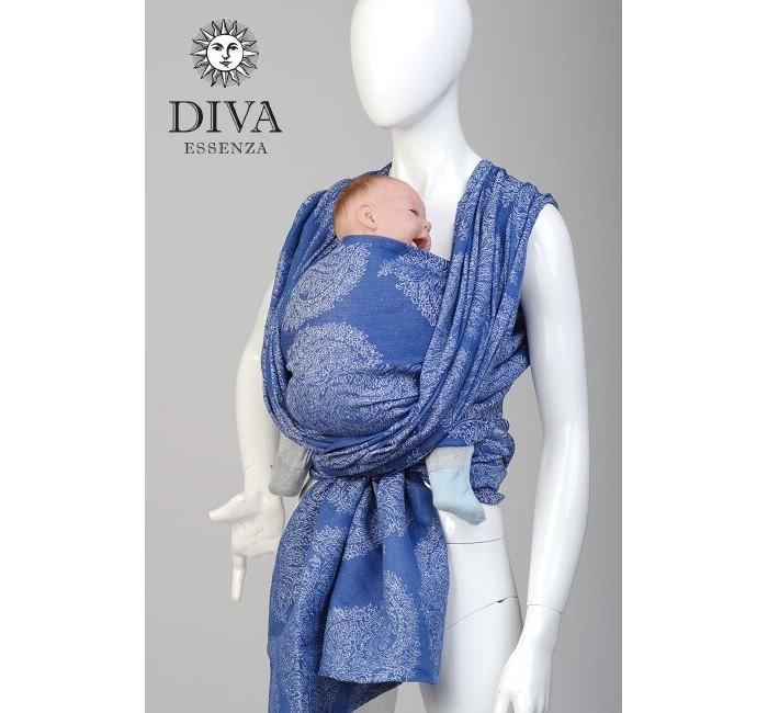 Слинг Diva Essenza шарф, хлопок-лен (4.2 м)шарф, хлопок-лен (4.2 м)Слинг Diva Milano Essenza - мягкий, нежный шарф, особенно приятен для новорожденных и деток до года.  Органический хлопок - это особый хлопок, выращенный без применения пестицидов и химических удобрений. Diva Milano использует такую ткань для создания самых нежных и мягких хлопковых шарфов, которые особенно хороши для новорожденных.  Особенности слинга-шарфа Diva Milano Essenza: прекрасный дизайн от итальянских дизайнеров компании большой выбор расцветок универсальные характеристики (шарф мягкий новым благодаря специальной механической обработке, но средней толщины, так что его можно использовать и с новорожденным, и с подросшим ребенком) отличное качество (Diva Essenza производятся из высококачественного индийского хлопка, на крупной фабрике, сертифицированной по стандартам ISO, только с использованием безопасных красителей без AZO-химикатов)  Края слинга - подшитые. Состав: 50% хлопок, 50% лен Размер: 4,2 м<br>