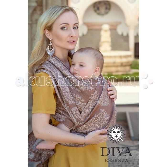 Слинг Diva Essenza шарф, хлопок-лен (4.2 м)