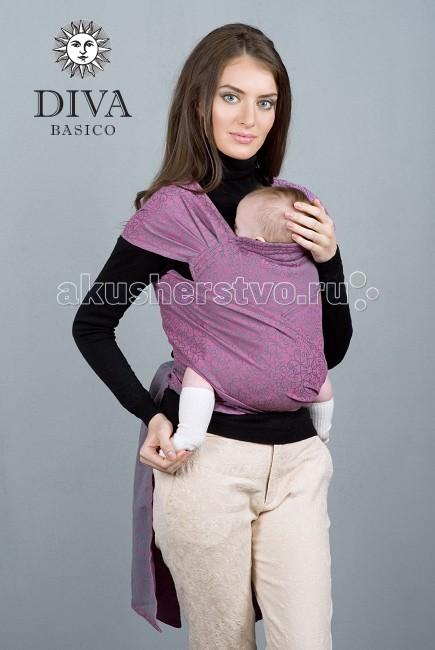 Слинг Diva Milano Май-слинг BasicoМай-слинг BasicoМай-слинг Diva Basico произведен из шарфовой ткани, т.е. из ткани, созданной для слинг-шарфа Diva. Такой слинг более комфортен в ношении, чем май из обычной ткани. Кроме того, в нем можно носить детей от рождения (хотя для новорожденных больше рекомендуется использовать слинг-шарф). Май-слинг Diva Basico снабжен подголовником, который поддерживает головку ребенка во время его сна.   Diva Basico - это отдельная линейка итальянского бренда Diva Milano с базовыми характеристиками по доступной цене, произведенная в России по международным стандартам!  Diva Basico - это: прекрасные дизайны от итальянских дизайнеров компании  большой выбор расцветок универсальные характеристики (ткань средней толщины, быстро мягчеет после стирки и непродолжительной носки)  отличное качество (Diva Basico производятся на крупной российской фабрике на прекрасном современном оборудовании) доступная цена  Выполнен из шарфовой ткани Diva Basico. Ткань средний толщины, универсален, подходит для всех возрастов.  Края слинга - подшитые. Состав: 100% хлопок Единый размер, подходит для большинства родителей (примерно до 54 размера)<br>