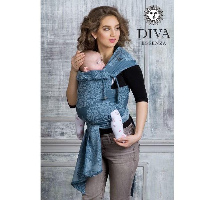 Слинг Diva Essenza Май-слингМай-слингМай-слинг Diva Essenza произведен из шарфовой ткани, т.е. из ткани, созданной для слинг-шарфа Diva. Такой слинг более комфортен в ношении, чем май из обычной ткани. Кроме того, в нем можно носить детей от рождения (хотя для новорожденных больше рекомендуется использовать слинг-шарф). Май-слинг Diva Essenza снабжен подголовником, которым можно зафиксировать головку ребенка во время его сна. При помощи специальных лямок такую фиксацию можно сделать даже если ребенок находится у вас за спиной.  Единый размер, подходит для большинства родителей   Diva Essenza - это отдельная линейка итальянского бренда Diva Milano с базовыми характеристиками по доступной цене. Diva Essenza - это:  прекрасные дизайны от итальянских дизайнеров компании; большой выбор расцветок; универсальные характеристики (шарф мягкий новым благодаря специальной механической обработке, но средней толщины, так что его можно использовать и с новорожденным, и с подросшим ребенком); отличное качество (Diva Essenza производятся из высококачественного индийского хлопка, на крупной фабрике, сертифицированной по стандартам ISO, только с использованием безопасных красителей без AZO-химикатов);<br>
