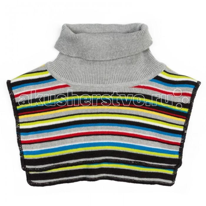 Варежки, перчатки и шарфы Playtoday Воротник-манишка детский трикотажный для мальчиков Веселый алфавит 377038