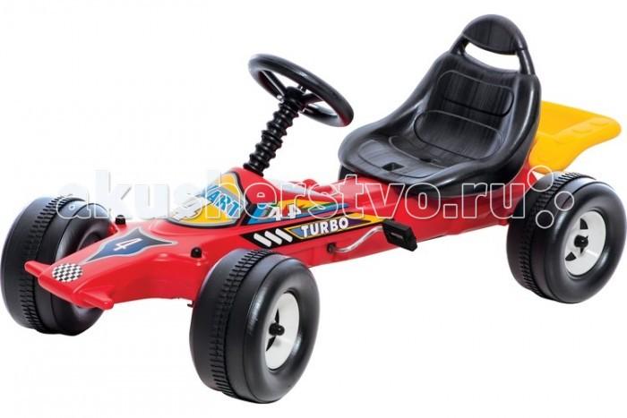 Детский транспорт , Педальные машины Dohany Kft Авто гоночная на педалях арт: 478446 -  Педальные машины