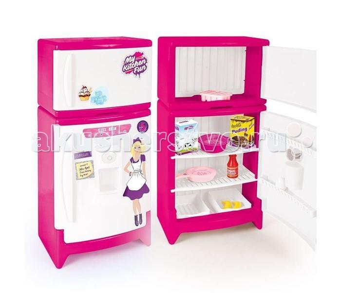 Ролевые игры Dolu Игрушечный холодильник ролевые игры dolu игрушечная стиральная машинка