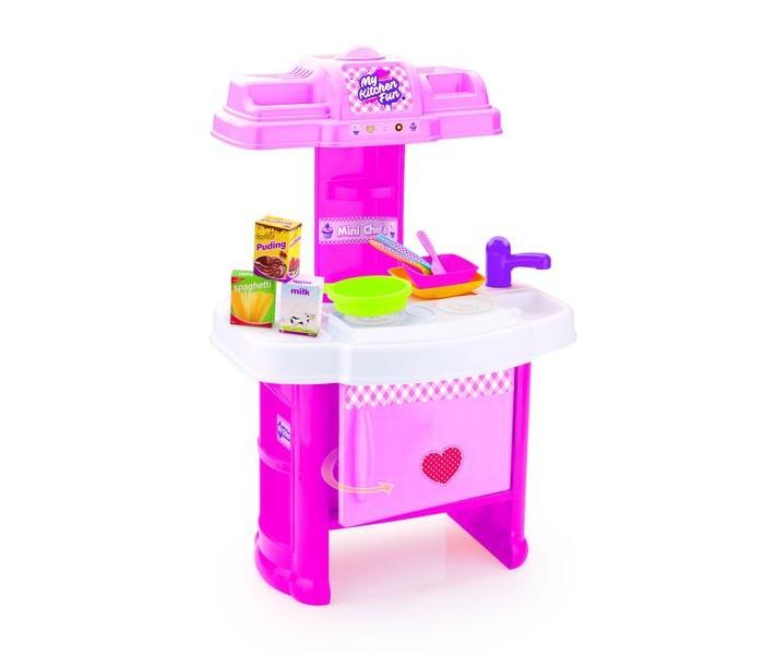 Фото - Ролевые игры Dolu Мини-кухня Шеф-повар ролевые игры dolu кухонный набор с закрытой тележкой 18 элементов