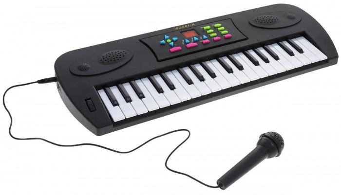 Музыкальные игрушки DoReMi Синтезатор D-00024(SD981A) 37 клавиш музыкальный инструмент детский doremi синтезатор 37 клавиш 54 см