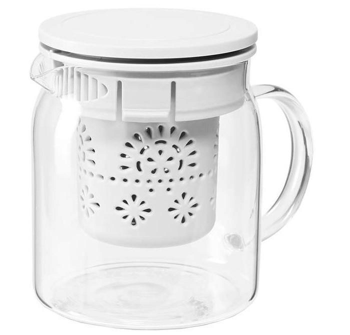 Посуда и инвентарь DOSH | HOME Чайник GRUS с ситечком 0.8 л недорого