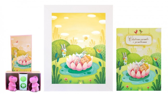 Детская мебель , Фотоальбомы и рамки Dream Service Авторский комплект Принцесса Лилия (3 предмета) арт: 506831 -  Фотоальбомы и рамки