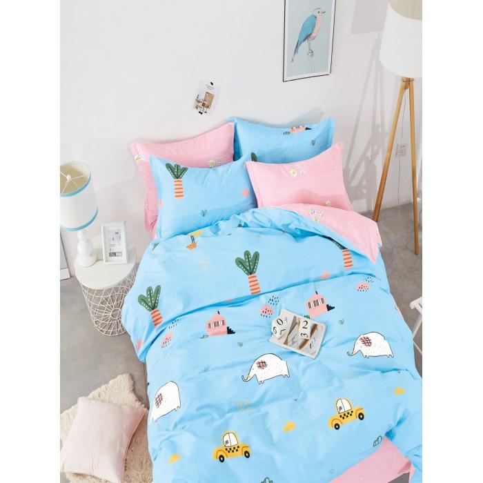 Купить Постельное белье 1.5-спальное, Постельное белье Dream Time BLK-46-SP-46 (3 предмета)