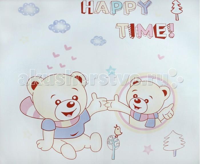 Пледы Dream Time детский Мишка 105х105 см одеяла dream time 140х105 см