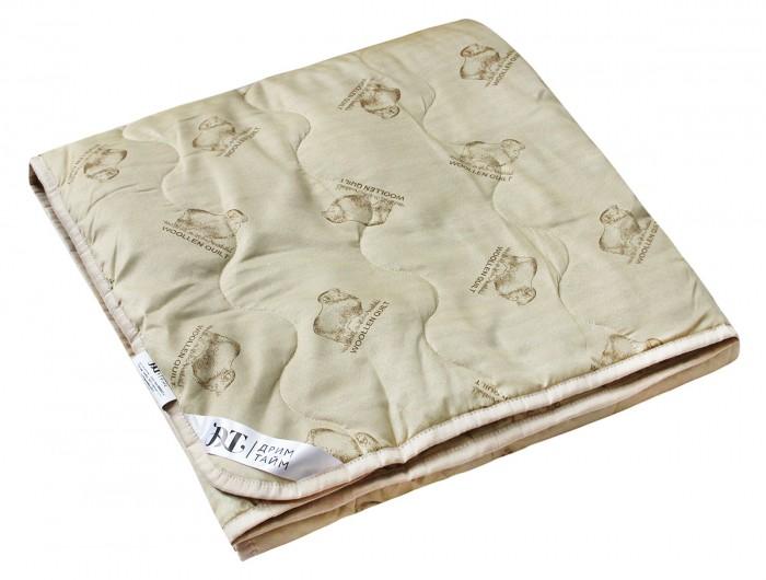 Одеяло Dream Time Классическое Овечья шерсть 200х220 300 г