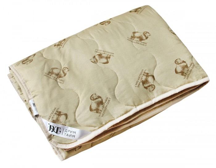 Одеяла Dream Time Легкое Овечья шерсть 140х205 150 г одеяла dream time одеяло легкое 140 105 см