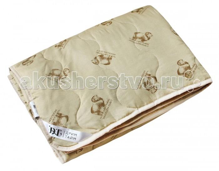 Постельные принадлежности , Одеяла Dream Time Легкое Овечья шерсть 200х220 150 г арт: 476971 -  Одеяла
