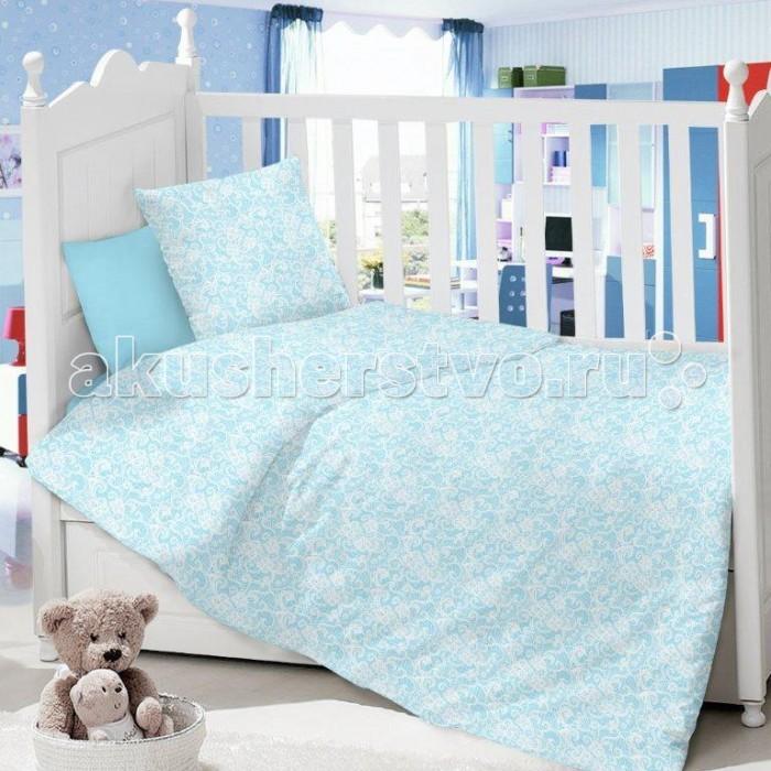 Комплект в кроватку Dream Time Узоры (3 предмета)Узоры (3 предмета)Комплект в кроватку Dream Time Детский Узоры (3 предмета), состоящий из наволочки 40х60 см, простыни 110х150 см и пододеяльника 110х145 см, выполнен из качественной ткани, специально для детских кроваток.   Комплект рассчитан специально для малышей от 0 до 4 лет. Сатин прочная и плотная ткань с диагональным переплетением хлопковой нити. Несмотря на повышенную плотность, этот материал отличается необыкновенной мягкостью и шелковистой фактурой.   Высокая плотность материала обеспечивает его долговечность и способность выдерживать многочисленные стирки на протяжении многих лет. Белье при этом продолжает оставаться все таким же ярким и привлекательным, поскольку ткань не линяет, не скатывается и не садится.   Такой комплект идеально подойдет для кроватки вашего малыша. На нем ребенок будет спать здоровым и крепким сном. Тон изделия может незначительно отличаться от изображения.<br>