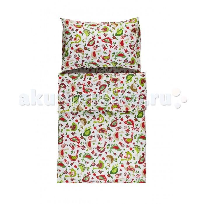 Постельное белье Dream Time Пташки (3 предмета) постельное белье dream time happy baby crown 3 предмета