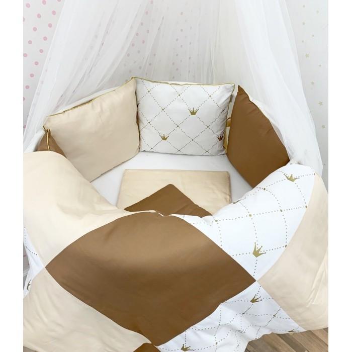 Комплект в кроватку DreamTex Королевский (14 предметов)