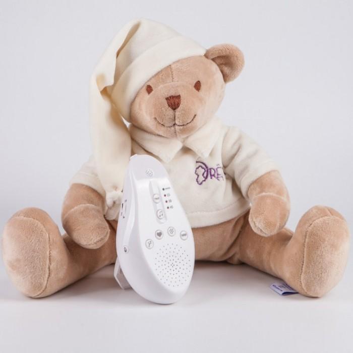 Комфортер Drema BabyDou Медведь с белым и розовым шумом 20 см фото