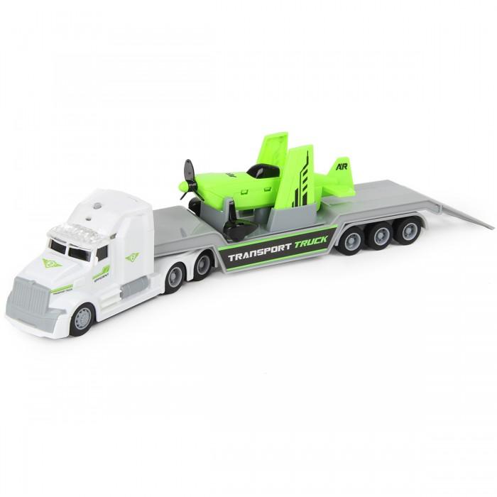 Машины Drift Автовоз с самолетом Transport Truck 1:50