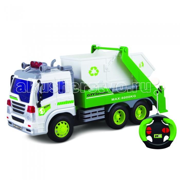 Машины Driver Drift Грузовик-контейнерный мусоровоз на радиоуправлении
