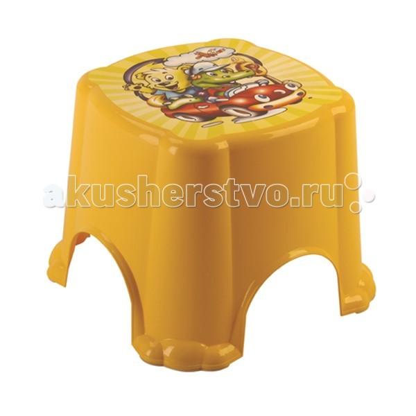 Подставки для ванны Dunya Детский табурет ведро для мусора dunya plastik раттан с педалью цвет бежевый коричневый 6 л