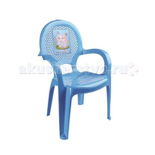 Пластиковая мебель Dunya Plastik Детский стульчик с рисунком dunya комод 4 ящика с рисунком