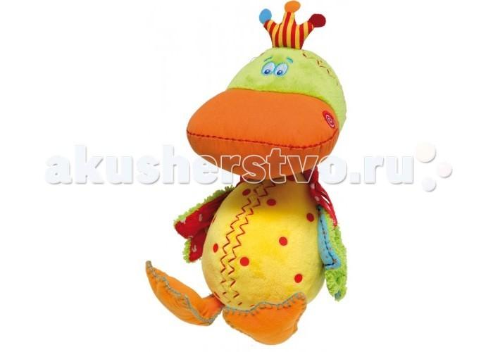 Мягкая игрушка Dushi развивающаяразвивающаяКоллекция мягких развивающих игрушек была создана креативной командой талантливых голландских дизайнеров Dushi в плотном сотрудничестве с детскими психологами, экспертами, мамами и папами. Красивые стильные игрушки высокого качества с деталями ручной работы выполнены с большим талантом и любовью к детям.   Игрушки отвечают европейским стандартам качества и безопасны для здоровья малышей.   Забавные и трогательные зверушки и растения создадут отличное настроение даже самому капризному крохе и станут его верными друзьями. Образы игрушек, близкие к реальным, будут оказывать только благоприятное воздействие на всестороннее развитие малыша.   Различные по фактуре материалы (хлопок, велюр, шенилл), вшитые ярлычки, мелкие детали (хохолки, хвостики, крылышки), специальные шарики-наполнители, форма игрушек, удобная для захвата маленькими ручками – все это развивает сенсорное восприятие и мелкую моторику ребенка.   Игрушки Dushi способны шуршать, «хрустеть», шелестеть, издавать различные звуки, закрепляя важную связь между слухом и осязанием.   Мягкие игрушки от Dushi это: трогательные, забавные игрушки успокоят и развлекут малыша способствуют развитию слухового, зрительного, сенсорного восприятия малыша удобная форма для маленьких ручек гипоаллергенные материалы отвечают высоким европейским требованиям безопасности высокое качество изготовления, украшены деталями ручной работы отличная идея стильного подарка прекрасное дополнение интерьера модной детской комнаты легкий уход: машинная стирка при 30 град  Развивающая игрушка «Дельфинчик» арт.12701  Этого веселого и счастливого Дельфинчика зовут Фло. Он просто плывет по течению и уверен, что все проблемы можно легко решить! Он знает, что именно может сделать жизнь легкой и чудесной! Это мягкие, приятные игрушки от DUSHI, такие как Фло. Ведь с ними так замечательно играть, обниматься или видеть сладкие сны.  Развивающая игрушка «Лягушка» арт.12702  Эта мудрая Лягушка любит поразмышлять 