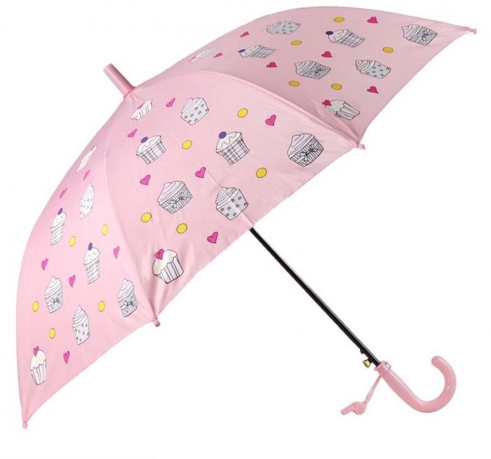 Зонты Джамбо меняющий цвет Капкейки со свистком 94 см