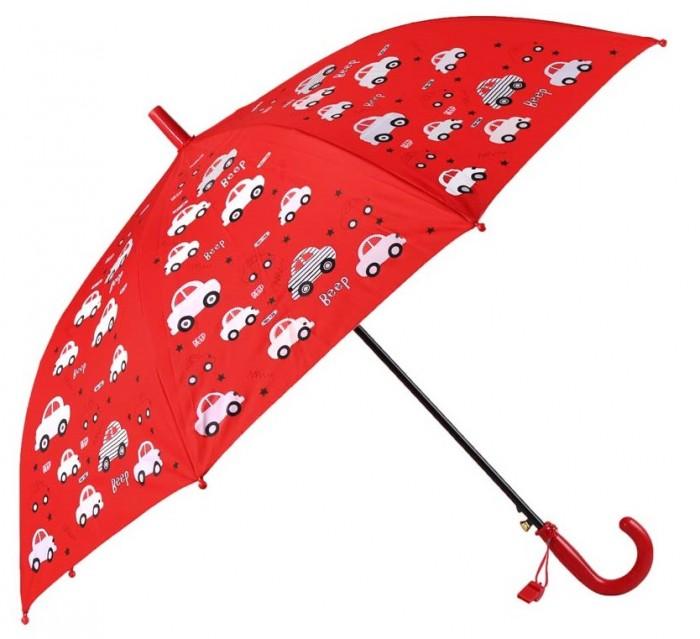 Зонты Джамбо меняющий цвет Машинки со свистком 94 см