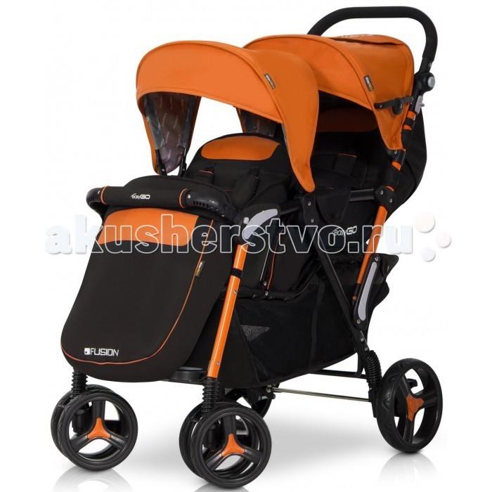 Детские коляски , Коляски для двойни и погодок EasyGo Прогулочная коляска для двойни Fusion Duo арт: 104305 -  Коляски для двойни и погодок