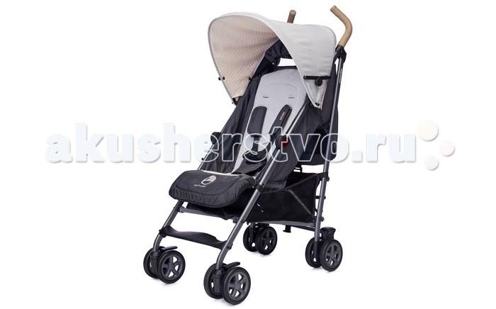 Коляска-трость EasyWalker BuggyBuggyКоляска-трость EasyWalker Buggy невероятно легкая и простая в управлении, а продуманная до мелочей конструкция обеспечивает комфортную посадку ребенка.  Прогулочный блок. Эргономичное мягкое сиденье для комфортной посадки ребенка, спинка сиденья регулируется в 4 положениях, включая горизонтальное для сна. Подходит для ребенка с рождения и до 3 лет. Удобная регулируемая подножка увеличивает спальное место. Пятиточечные ремни безопасности позволяют надежно пристегнуть малыша и при этом обеспечить ему возможность свободно двигаться. Большой раздвижной капюшон оснащен дополнительным солнцезащитным козырьком, дышащая гипоаллергенная ткань легко снимается и стирается. Можно установить съемный бампер.  Колеса изготовлены из особого материла – EVA (этиленвинилацетат), который используется также в производстве беговых кроссовок и отличается особой легкостью и упругостью. Благодаря этим свойствам, колеса обладают великолепными амортизирующими свойствами и обеспечивают мягкий ход. Поворотные сдвоенные передние колеса с возможностью фиксации на месте. Амортизация на передних и задних колесах обеспечивает плавный ход коляски даже по бугристой поверхности, оберегая ребенка от тряски.  Шасси: ножная тормозная система компактное сложение по принципу зонтичного  - коляска складывается одной рукой за 4 секунды вместительная корзина совместимость с детскими автокреслами Maxi-Cosi (требуется переходник-адаптер).  Наличие бампера в комплекте зависит от поставки!<br>