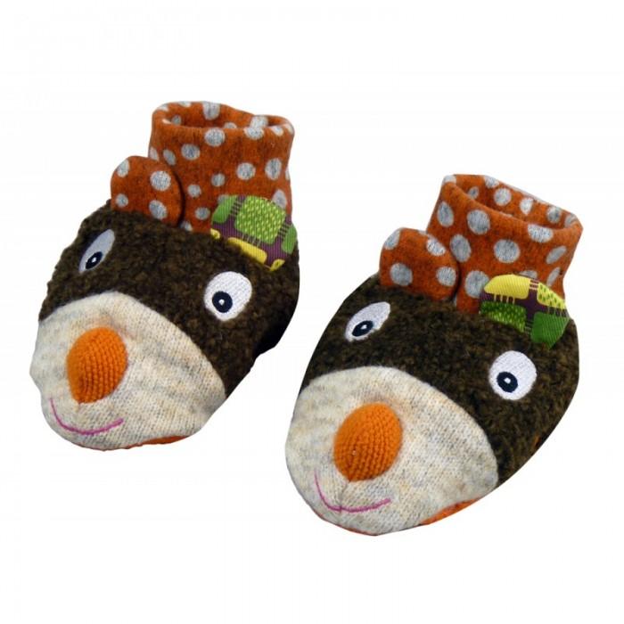 Ebulobo Ботиночки мягкие Мишка от Ebulobo