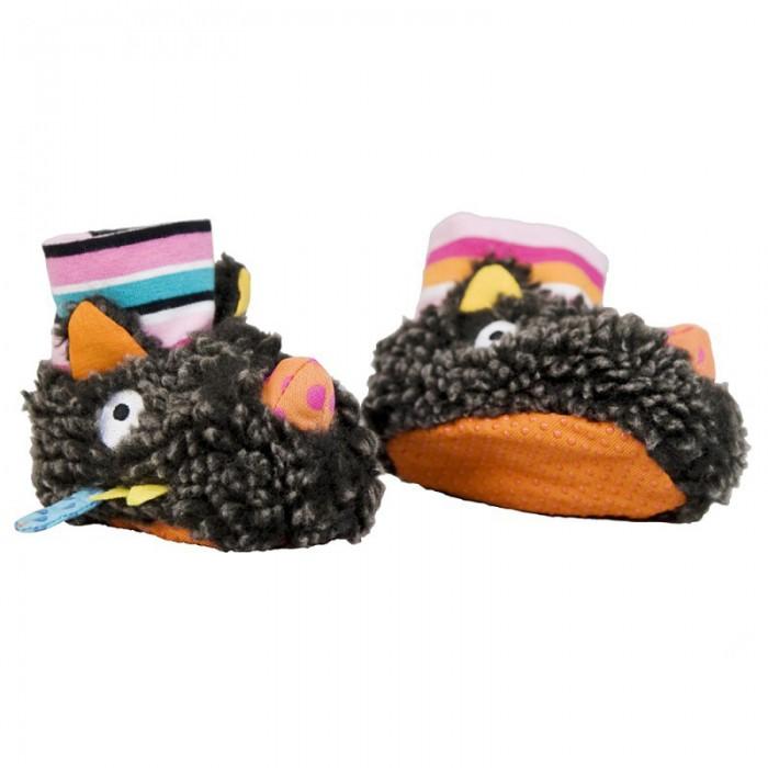 Детская одежда , Обувь и пинетки Ebulobo Ботиночки мягкие Волчонок арт: 398899 -  Обувь и пинетки