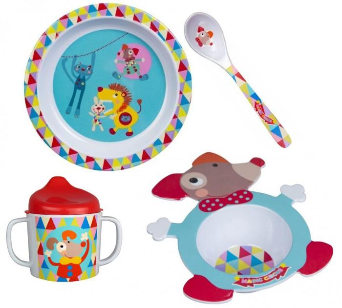 Аксессуары для кормления , Посуда Ebulobo Набор посуды 4 предмета арт: 379414 -  Посуда