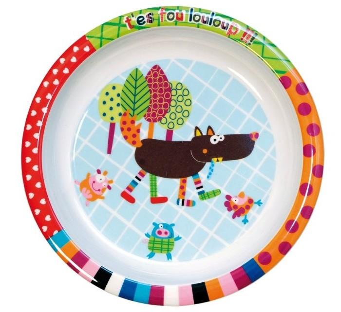 Посуда Ebulobo Тарелочка детская каталки игрушки ebulobo мишка